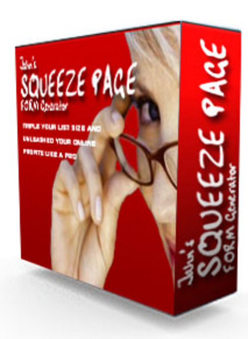 Product picture Squeeze Page Generator Guaranteed Full Version