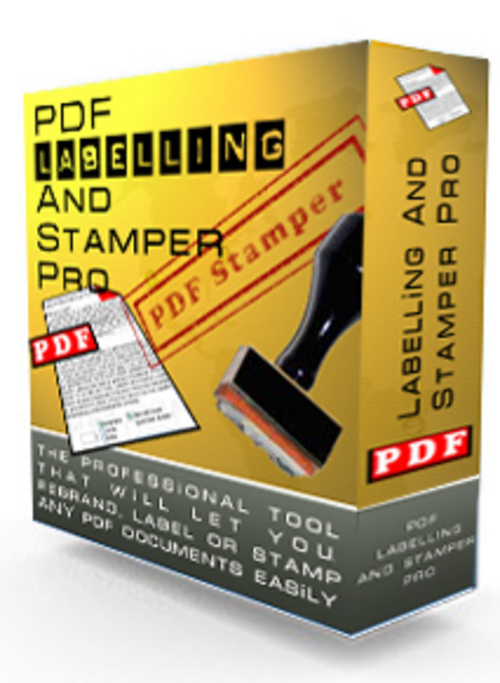 Product picture PDF Labelling and Stamper Pro Guarenteed Full Version