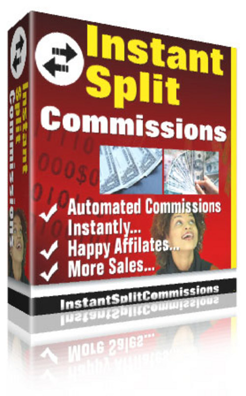 Product picture Instant Split Commissions ¡Guaranteed! Full Version