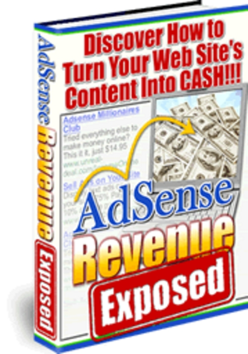 Product picture AdSense Revenue Exposed ¡Guaranteed! Full Version