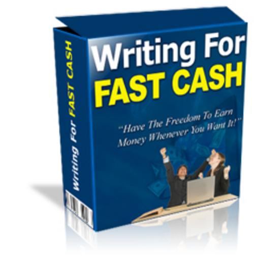Product picture Writing For Fast Cash ¡Guaranteed! Full Version